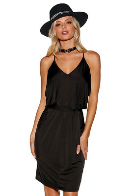 knotted tank dress