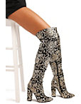 Sequin Embellished Over-the-knee Boot Photo