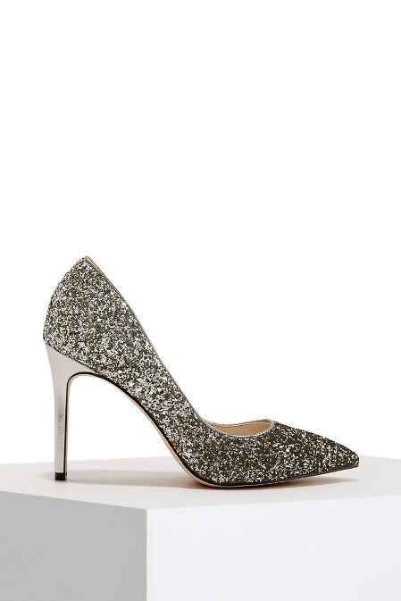 Glitter two tone pump image