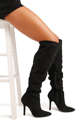 over-the-knee slouch boot