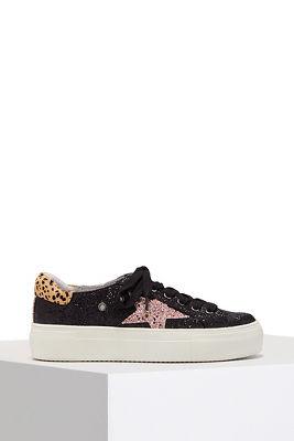 Star glitter sneaker