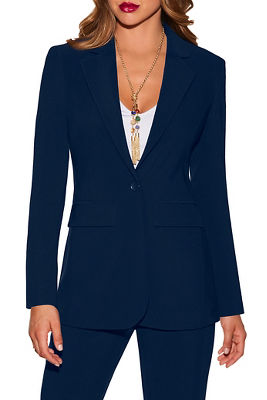 Beyond travel™ classic boyfriend blazer