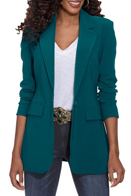 Beyond travel classic boyfriend blazer