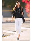 Distressed Embellished Sweatshirt Photo