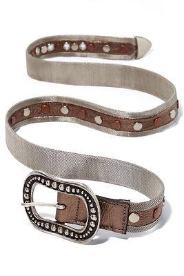 Metallic mesh belt