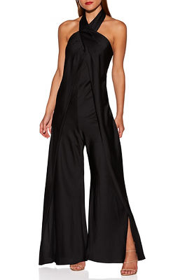 Display product reviews for Wide leg halter jumpsuit
