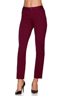 Five pocket slim ponte pant