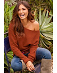 Boat Neck Slouchy Sweater Photo