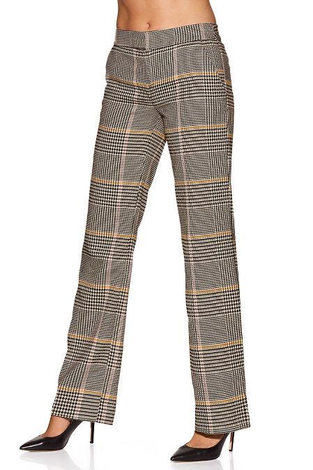 Plaid trouser image