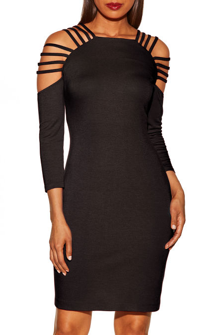 Strappy back dress image