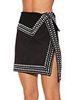 Studded Mini Skirt Photo