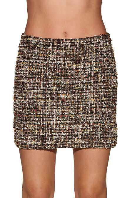 Tweed skirt image