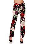 Floral Scuba Trouser Photo