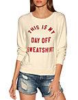 Day Off Sweatshirt Photo
