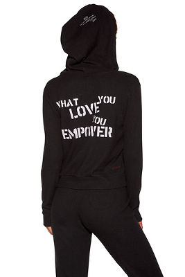 love empowered hoodie
