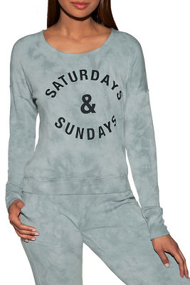 saturday sunday sweatshirt