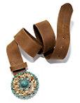 Turquoise Buckle Belt Photo