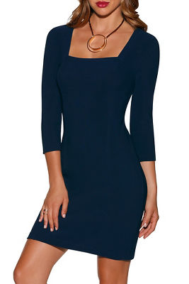 Beyond travel&#8482 square neck dress