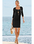 Beyond Travel™ Square Neck Dress Photo