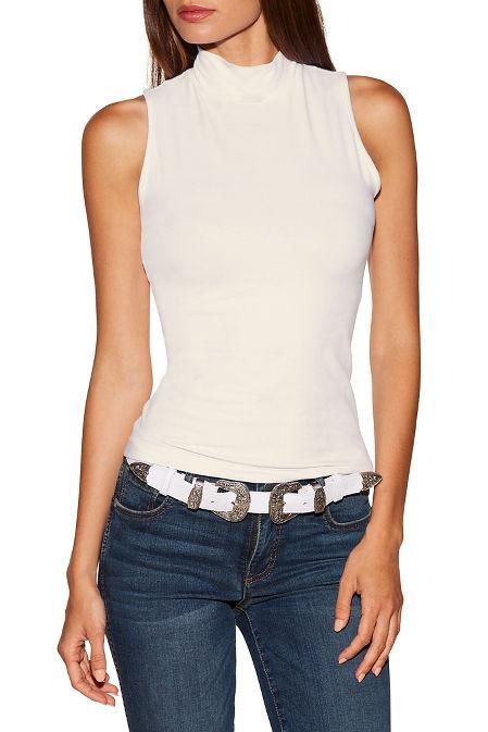 So Sexy™ basic sleeveless turtleneck image