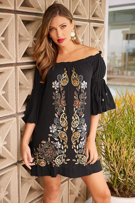 Embellished dress image