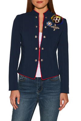 Military glam pin jacket