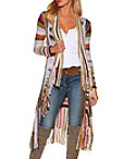 Multicolor Fringe Duster Photo