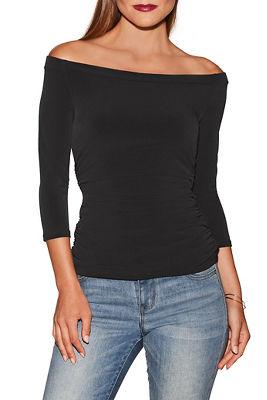 Beyond Slim and Shape off-the-shoulder top