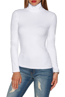 So sexy™ basic turtleneck top