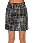 Sparkle Tweed Mini Skirt Photo