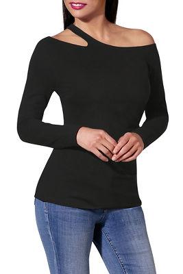 So Sexy™ one shoulder solid top