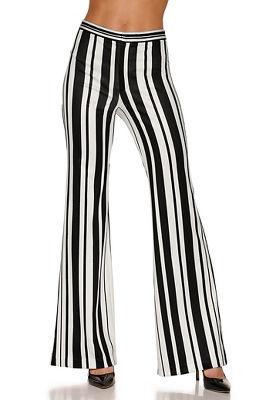 Striped scuba pant