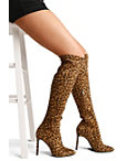 Over The Knee Leopard Boot Photo