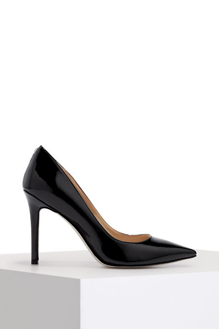 Patent leather pump image