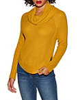 Cowl Neck Long Sleeve Sweater Photo