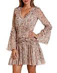 Paisley Ruffle Smocked Dress Photo