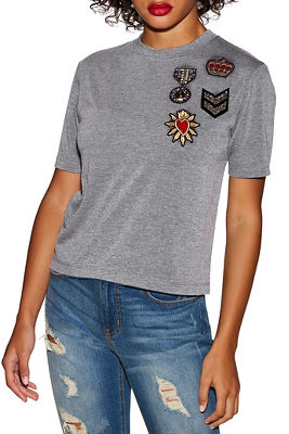 Glam patch tee