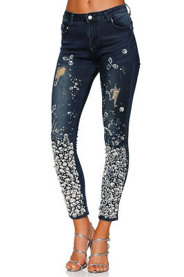 Over the top gem skinny jean