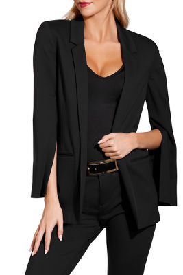 Display product reviews for Ponte suit blazer