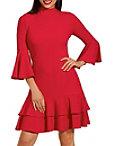 Beyond Travel ™ Ruffle Trim Dress Photo