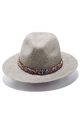 Display product reviews for Beaded trim hat