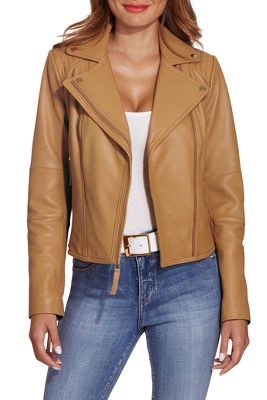 Display product reviews for Leather Proper™ moto jacket