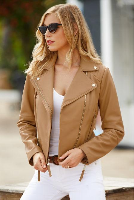 Leather Proper™ moto jacket image