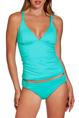 reversible halter tankini top