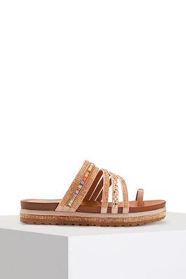 platform strappy sandal