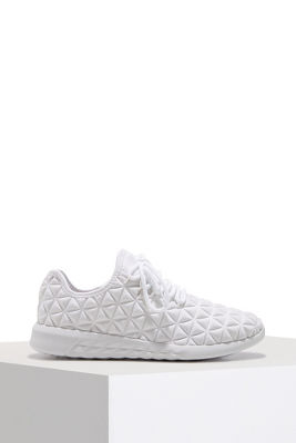 quilted pattern sneaker