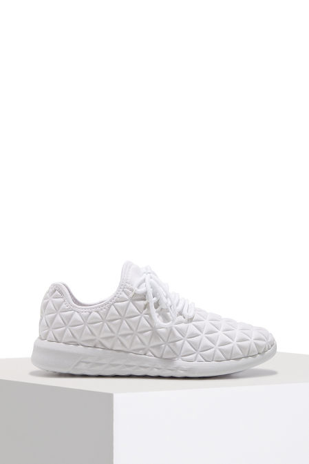 Quilted pattern sneaker image