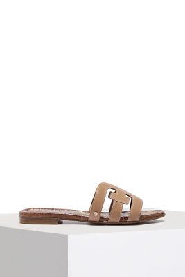 Signature slip on sandal