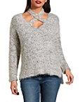 Crisscross Cozy Sweater Photo