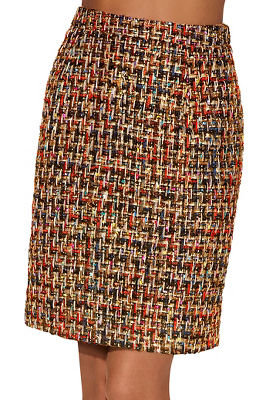Display product reviews for Multicolor tweed mini skirt